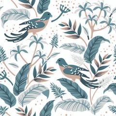 Birds in the nature design