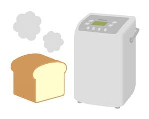 ホームベーカリーでパン作り