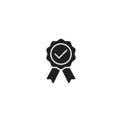 Rosette, quality line icon vector
