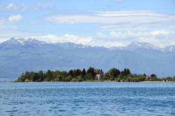 Ohrid lake. Ohrid, Macedonia.