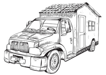 Truck House