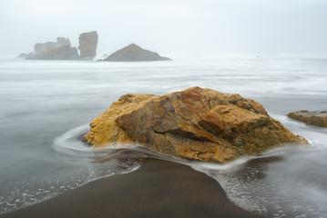 Beach of Bayas, Asturias, Spain