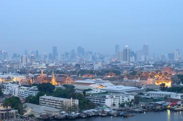 Bangkok air pollution.