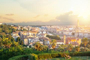 Florence, Italy. Cityscape skyline of Firenze