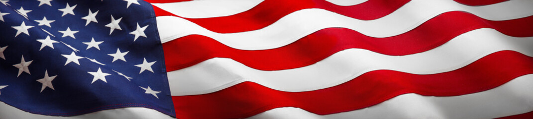 Papiers peints Etats-Unis American Wave Flag