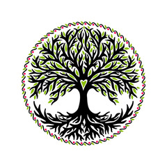 Yggdrasil, tree of life, celtic symbol