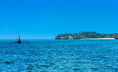 sea in Zanzibar beach