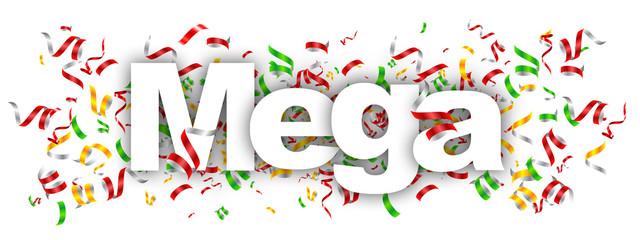 mega  label
