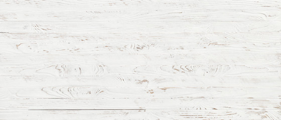 white wood texture background, top view wooden plank panel