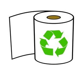 トイレットペーパーのリサイクル