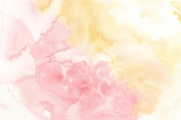 Close up of abstract hand painting  on white paper background,Creative Design Templates.