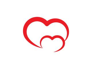Creative heart symbol vector