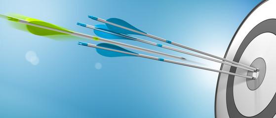 Exceeding Expectations, Surpass Business Goals Concept