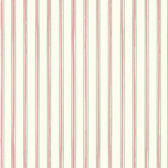 Classic stripes in pastel pink and green with a contemporary painterly twist on soft cream background. Seamless vector pattern. Perfect for stationery, textiles, home decor, giftwrapping, packaging
