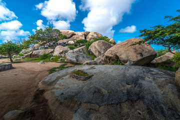Der Arikok Nationalpark auf Aruba