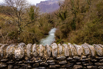 the Nervion River passing through different places of Delika