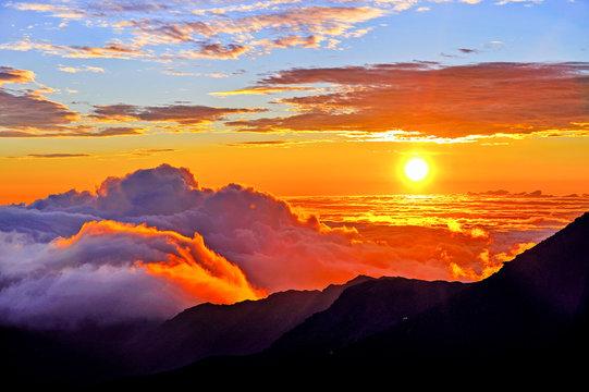 Sunrise Maui Hawaii