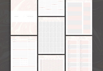 Personal Planner Layout Set