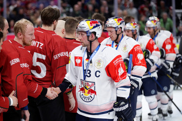 Men's Ice Hockey - Champions Hockey League - Final - Frolunda Indians v Red Bull Muenchen