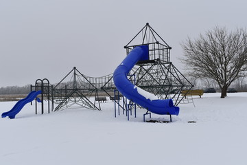 winter in the park