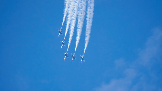United States Air Force Thunderbirds demonstration