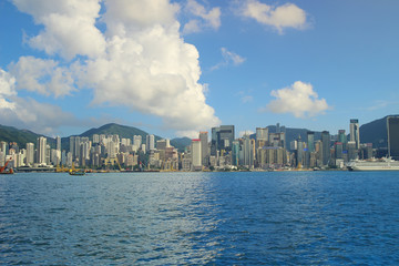 the hong kong victoria harbour