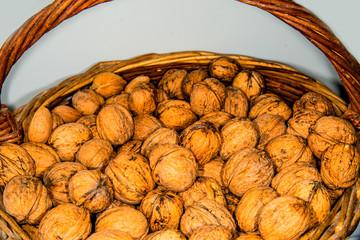 walnut oil with walnuts