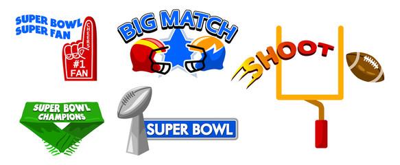 Super Bowl Event Fancy Badge