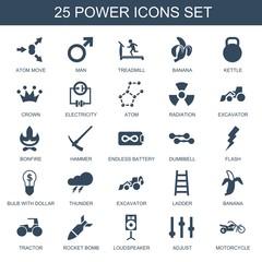 power icons