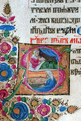 Foto op Aluminium Imagination Close up of old Holy Bible book