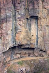 Foto op Canvas Wand Guoliang hang wall highway, Hui county, Henan province, China