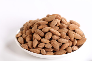 salted and roasted almonds