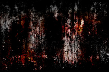 Abstract background old cement wall, concept of horror and Halloween