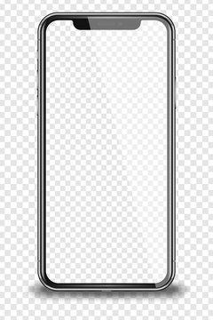 Realistic smart phone.