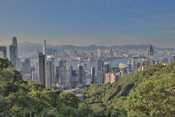 view of Admiralty and Wan Chai,