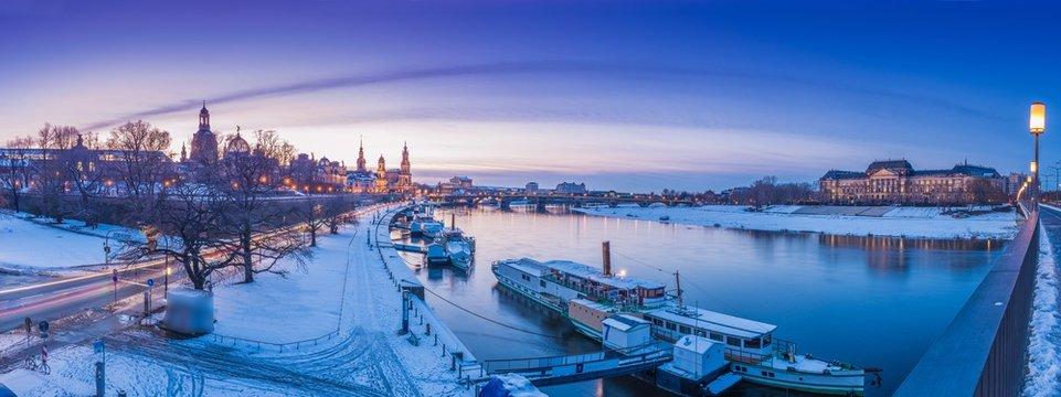 Dresden Winter Panorama