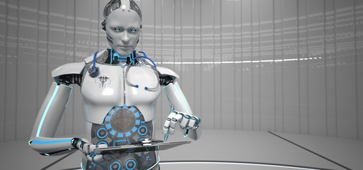 Humanoider Roboter als medizinischer Assistent