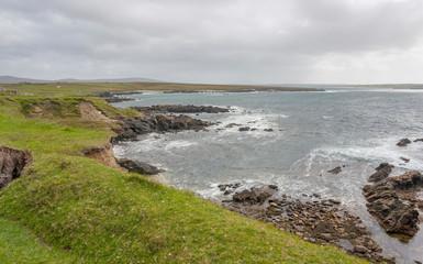 coastal scenery in Connemara