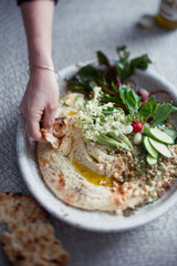 Humus Cauliflower Dipping