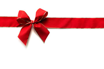 red ribbon and bow 2