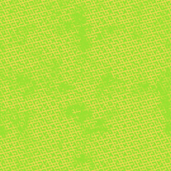 Seamless abstract pattern. Texture in green and yellow colors.