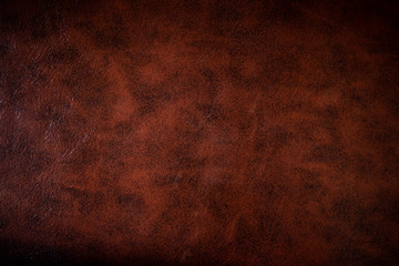 Vintage or old style of brown leather texture use as a background Wall mural