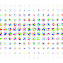 The colored dots on white background   for text, logo, banner, poster, label, sticker, layout.