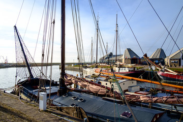 Harbour of Stavoren, Netherlands