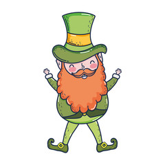 st patricks day leprechaun character