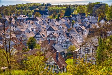 Der Alte Flecken von Freudenberg im Siegerland, Nordrhein-Westfalen