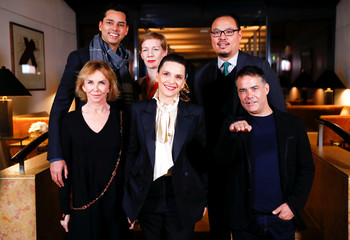 Members of the international jury for the upcoming Berlin International Film Festival Berlinale pose during a photocall in Berlin