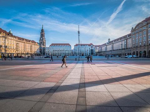 Altmarkt in Dresden