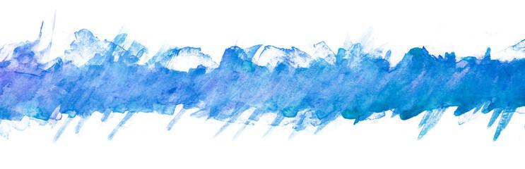 splash watercolor painting background elements stripe blue