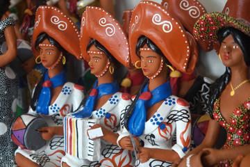 "Souvenirs ""Social Banditry"" in Recife, Brazil"